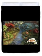 The River Of Life Duvet Cover