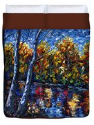 The River Song  Duvet Cover