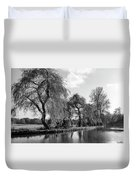 The River Wey,guildford, Surrey,england  Duvet Cover