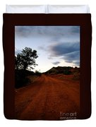 The Road Ahead Duvet Cover