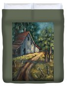 The Road Leads Home Duvet Cover