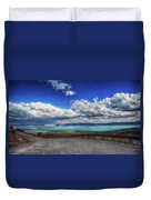 The Road To Bear Lake Duvet Cover