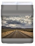 The Road To Death Valley Duvet Cover