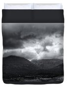 The Road To Elgol Duvet Cover
