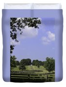The Road To Lynchburg From Appomattox Virginia Duvet Cover by Teresa Mucha
