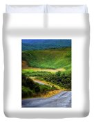 The Road To Milford Sound Duvet Cover