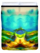 The Road To Paradise Duvet Cover