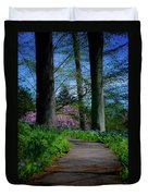 The Road To Peace And Quiet Duvet Cover