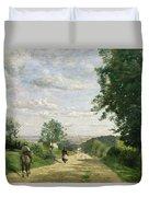 The Road To Sevres Duvet Cover