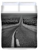 The Road To Shoshone Duvet Cover