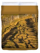 The Road To The Pasture Duvet Cover