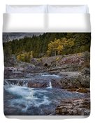 The Rock Wall Duvet Cover