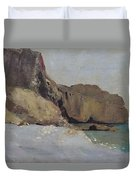 The Rocks At Vallieres Duvet Cover