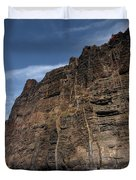 The Rocks Of Los Gigantes 1 Duvet Cover