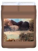 The Rocky Mountain Duvet Cover