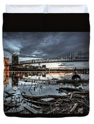 The Roebling Gotham Style Duvet Cover