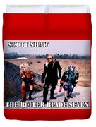 The Roller Blade Seven Duvet Cover by The Scott Shaw Poster Gallery