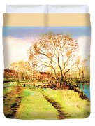 The Rookery By V.kelly Duvet Cover