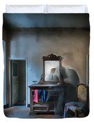 The Room Of The Castle Of The Phantom Of The Mirror Paint Duvet Cover