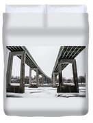 The Roosevelt Expressway Bridges Duvet Cover