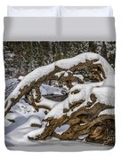 The Roots Of Winter Duvet Cover