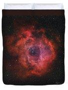 The Rosette Nebula Duvet Cover