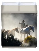 The Round Up Duvet Cover