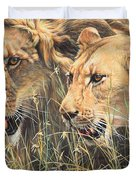 The Royal Couple II Duvet Cover