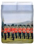 The Royal Fusiliers Duvet Cover