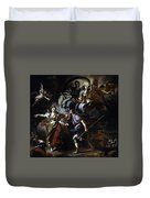 The Royal Hunt Of Dido And Aeneas Duvet Cover