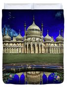 The Royal Pavilion At Sunrise Duvet Cover