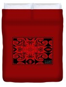 The Royal Red Crest Duvet Cover
