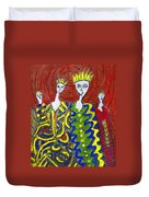 The Royal Sisters Duvet Cover