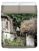 The Ruined Cottage Duvet Cover