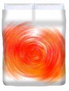 The Sacral Chakra - Orange Duvet Cover