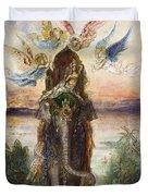 The Sacred Elephant 1882 Duvet Cover