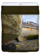 The Salen Wrecks Duvet Cover