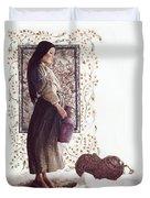 The Samaritan Woman - Lgtsw Duvet Cover