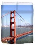 The San Francisco Golden Gate Bridge 7d14507 Duvet Cover