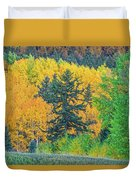 The Sanctity Of Nature Reified Through A Photographic Image  Duvet Cover