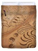 The Sand Man Duvet Cover