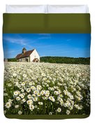 The Saxon Church Duvet Cover