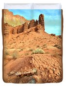 the Scenic Drive III Duvet Cover