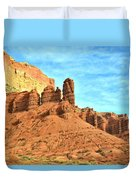 The Scenic Drive Duvet Cover