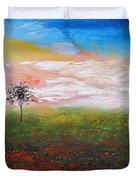The Scented Sky Duvet Cover