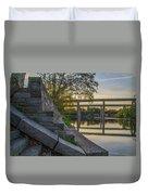 The Schuylkill Steps - East Falls - Philadelphia Duvet Cover