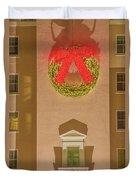 The Scintillating Wreath   Duvet Cover