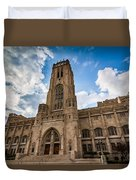 The Scottish Rite Cathedral - Indianapolis Duvet Cover