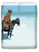 The Scout Friends Or Foes Duvet Cover