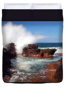 The Sea Explodes Duvet Cover